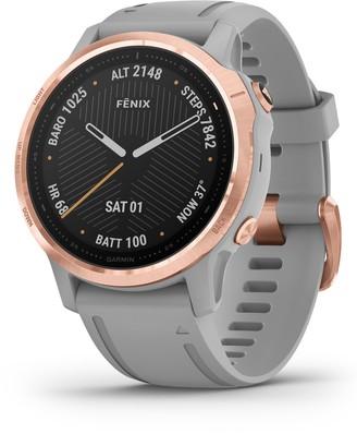 Garmin fenix® 6S Sapphire Premium Multisport GPS Watch, 42mm