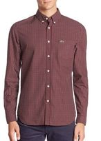 Lacoste Long Sleeve Printed Shirt