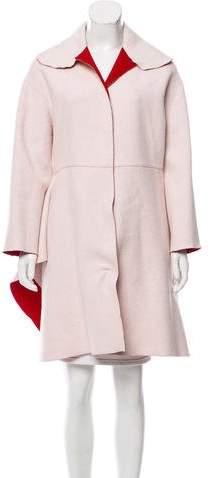Giambattista Valli Virgin Wool Swing Coat