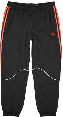 adidas Black shell sweatpants