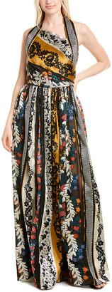 Oscar de la Renta Silk-Lined Gown