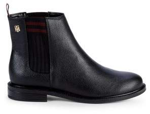 Tommy Hilfiger Poe Logo Booties