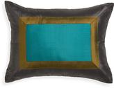 Jonathan Adler Bluebird Siam Silk Throw Pillow