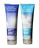 Desert Essence Fragrance Free Shampoo Conditioner Bundle (8oz + 8oz)