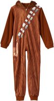 Star Wars Boys 4-10 Chewbacca Pajamas