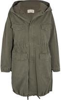 Nili Lotan North Oversized Hooded Cotton-blend Jacket