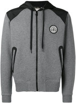 Versace logo hooded sweatshirt - men - Cotton/Polyamide/Polyester/Spandex/Elastane - 4