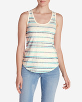 Eddie Bauer Women's Ravenna Tank Top - Striped