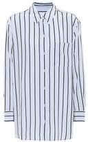 Equipment Daddy striped silk shirt