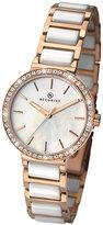 Accurist Ladies' Two Colour Ceramic Bracelet Watch