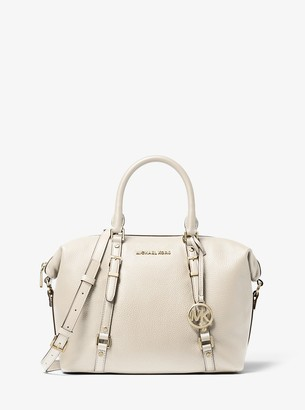 MICHAEL Michael Kors Bedford Legacy Medium Pebbled Leather Convertible Satchel