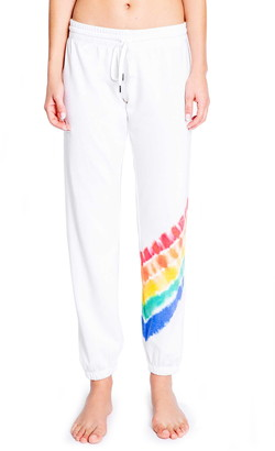 PJ Salvage Luv Rules Tie Dye Lounge Pants