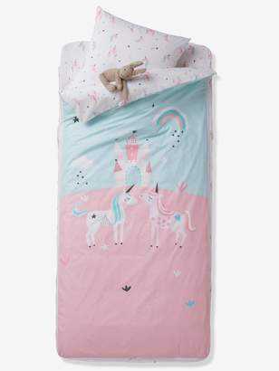 Vertbaudet Ready-for-Bed Set with Duvet, Magic Unicorns Theme
