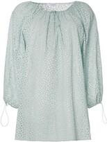 Marysia Swim Moab off-the-shoulder cotton mini dress