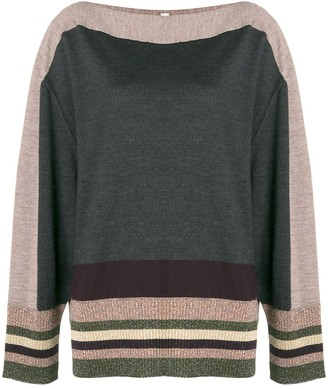Antonio Marras Stripe Detail Sweater