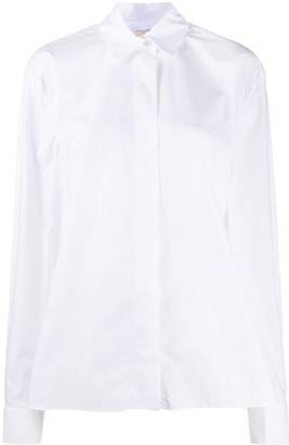 Alexandre Vauthier Crystal Buttons Shirt