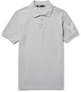 Y-3 Slim-Fit Printed Cotton-Piqué Polo Shirt