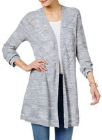 Style And Co. Open-Front Duster Cardigan