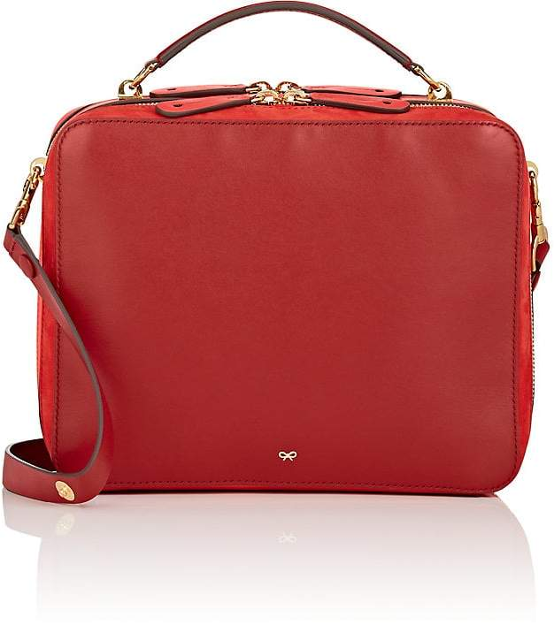Anya Hindmarch Women's The Stack Double Leather Satchel