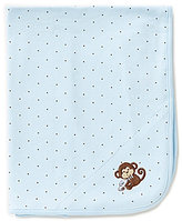Little Me Monkey Star Blanket