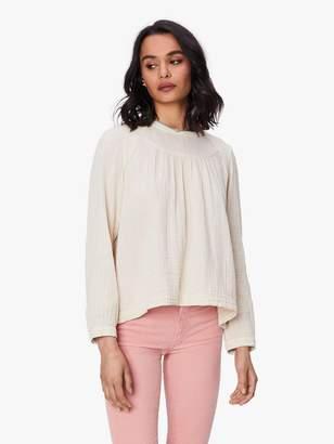 XiRENA Ensley Chelsea Gauze Shirt - Full Moon