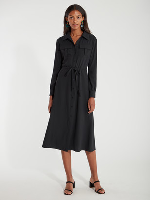 Billie The Label Sofia Midi Shirt Dress