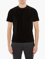 Our Legacy Black Short-Sleeved Velour T-Shirt