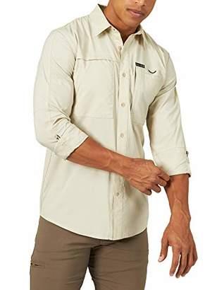Wrangler ATG by Men's Long Sleeve Hike to Fish Shirt