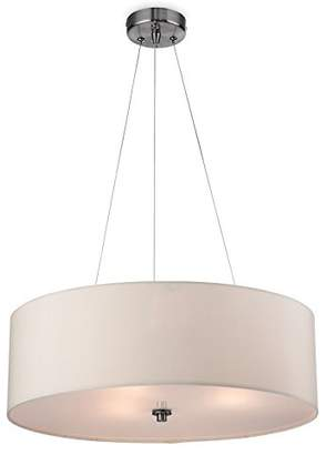 Firstlight 2314CR E27 Edison Screw 42 Watt Phoenix Pendant Light, Cream