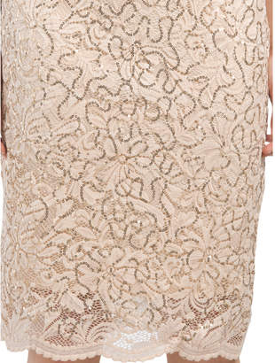Short Dress With Capelet Detail