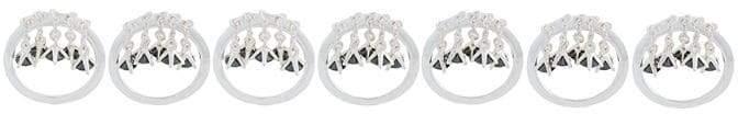 E.m. mini chains layered rings