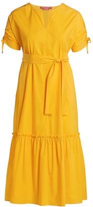 Marina Rinaldi, Plus Size Marina Sport Poplin Midi Dress