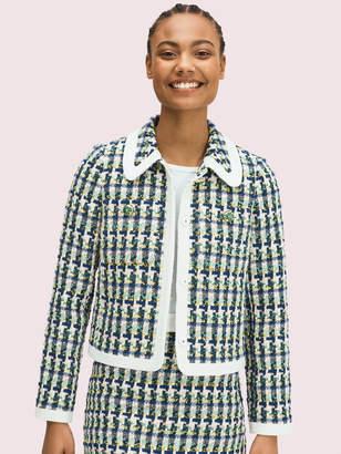 Kate Spade Pop Tweed Jacket