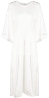 Dorothee Schumacher Crochet-Detail Mid-Length Dress