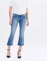 Current/Elliott The Cropped Flip Flop Jeans
