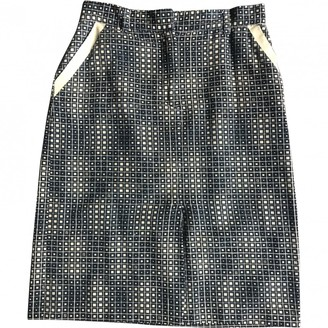 Fendi Brown Cotton Skirt for Women Vintage