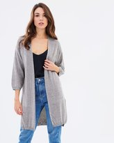 Mng Metal Cardigan