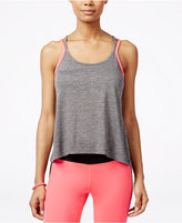 Material Girl Juniors' Active Crisscross-Back Tank Top, Only at Macy's
