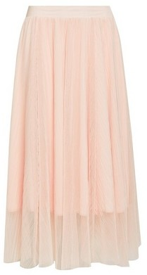 Dorothy Perkins Womens Blush Tulle Full Midi Skirt