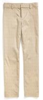 Tommy Hilfiger Final Sale- Double Cloth Dot Print Crop Pant
