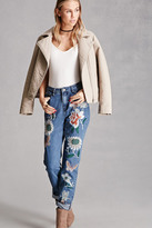 Forever 21 FOREVER 21+ Pixie And Diamond Jeans