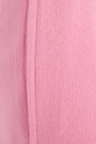 Vionnet Wool and angora-blend felt tapered pants