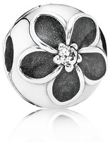 Pandora Clip - Sterling Silver, Cubic Zirconia & Enamel Mystic Floral, Moments Collection