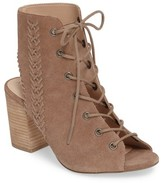 Sole Society Women's Rohan Lace-Up Bootie Sandal