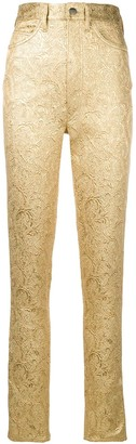 Maison Margiela baroque skinny trousers