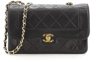 Chanel CC Chain Flap Bag Quilted Lambskin Small