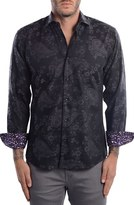 Men's Bertigo Paisley Modern Fit Sport Shirt