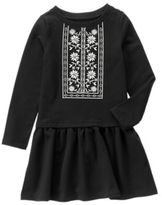 Crazy 8 Embroidered Dress