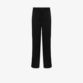 Comme des Garcons Polka Dot Cropped Trousers