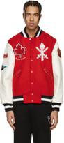 Opening Ceremony Red Canada Global Varsity Jacket